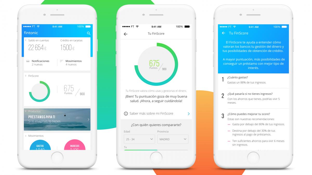Tan seguro como el banco, Fintonic es la app que tus finanzas necesitan.